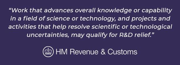 hmrc r&d tax credit